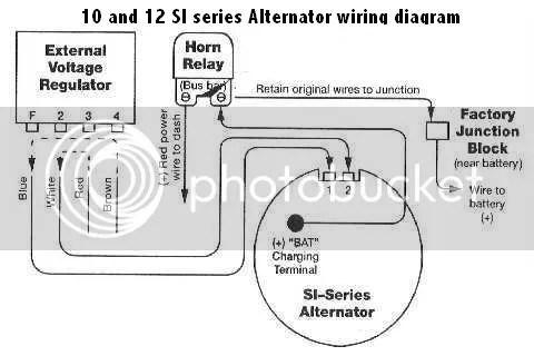Pontiac Alternator Wiring Diagram Wiring Schematic Diagram
