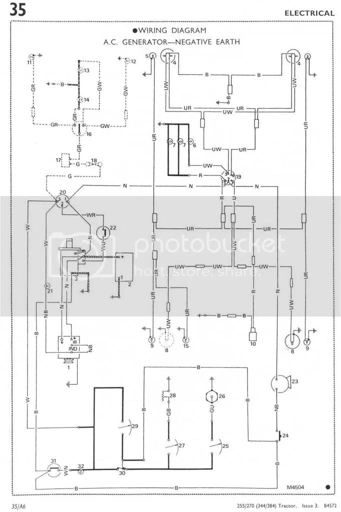 leyland 344 wiring diagram