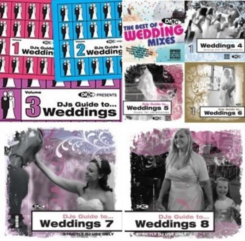 DMC Weddings Pack 2015 (DJs Guide To Weddings)