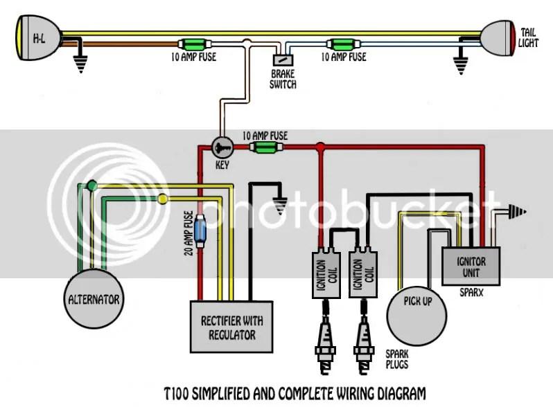 Triumph No-Battery wiring diagram - The Jockey Journal Board