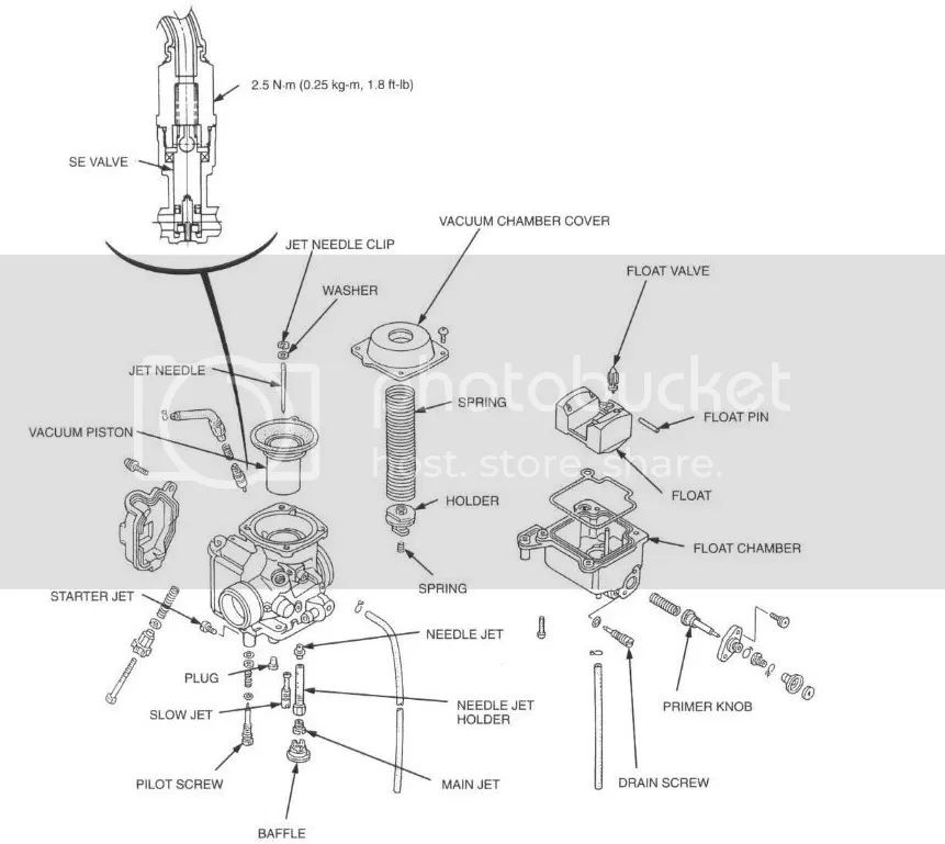 honda 300 fourtrax carburetor schematic