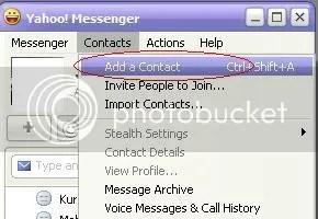 Cara chatting yahoo messenger