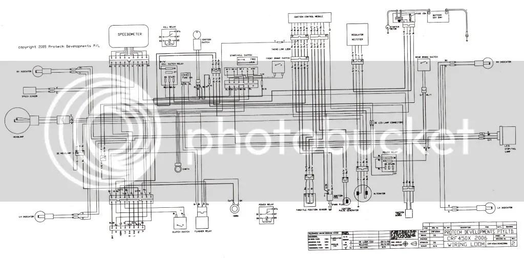 Crf250x Wiring Diagram Wiring Diagram Automotive