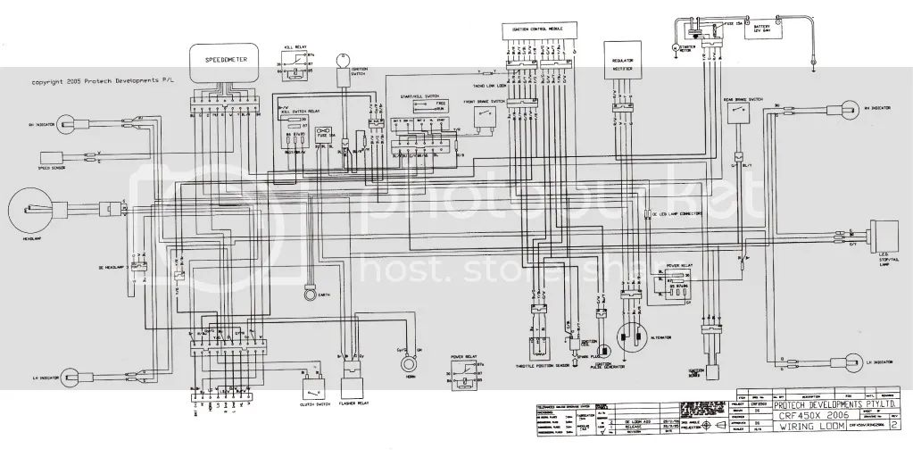 crf250x wiring diagram 2004