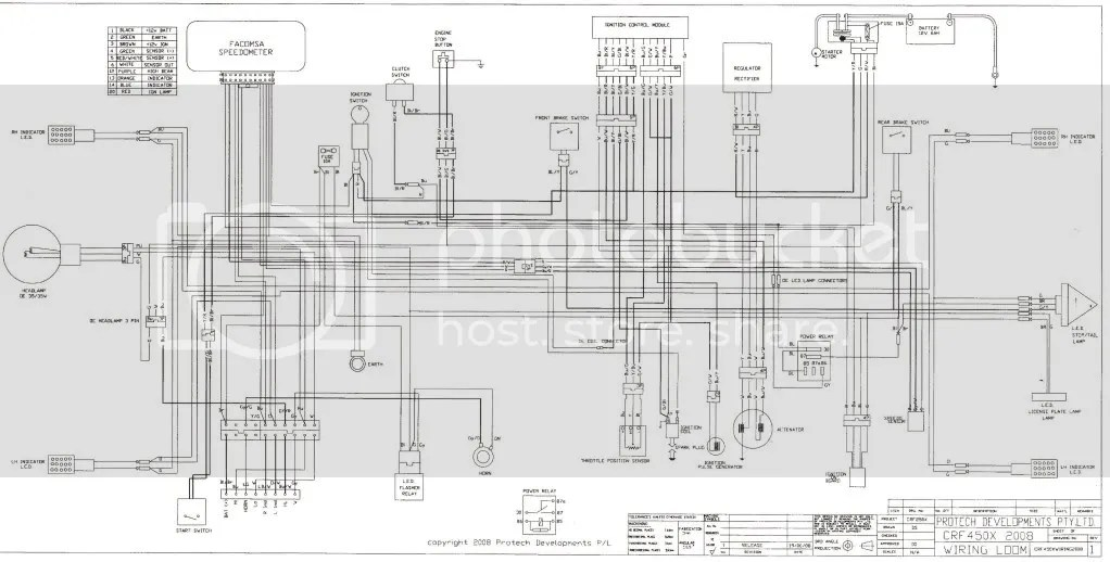 Crf450x Wire Diagram Wiring Diagram