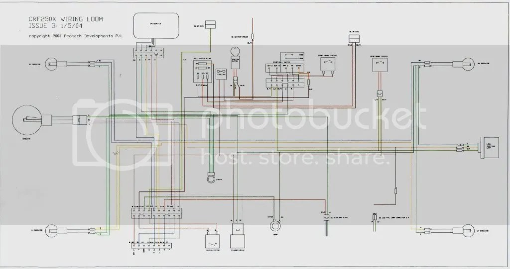 Honda Crf Wiring Diagram Wiring Schematic Diagram