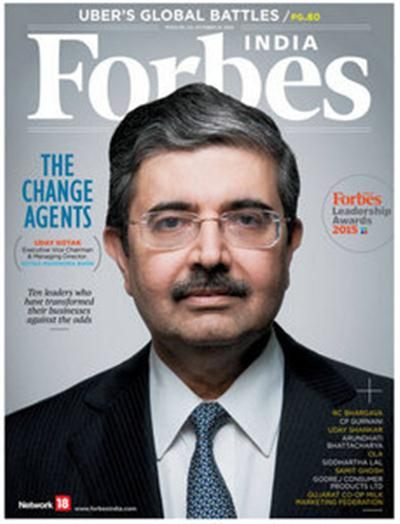 Forbes India – October 16, 2015