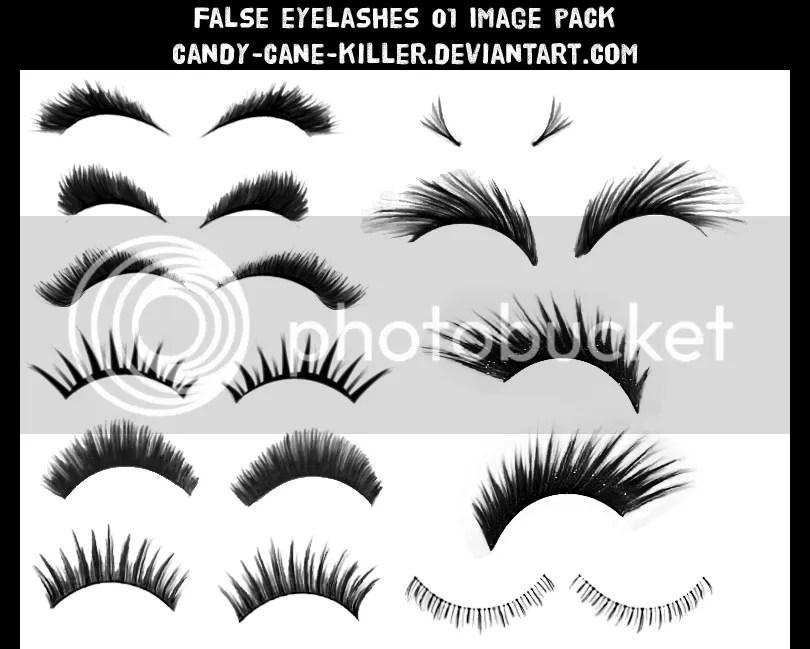 How To Add Eyelashes Naturally In Photoshop Free Eyelash Brush