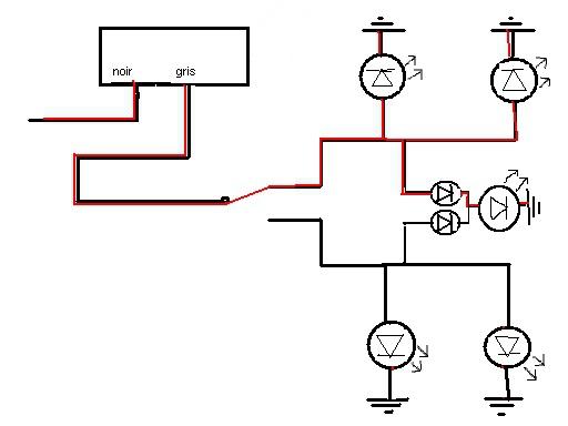 bedradings schema motor