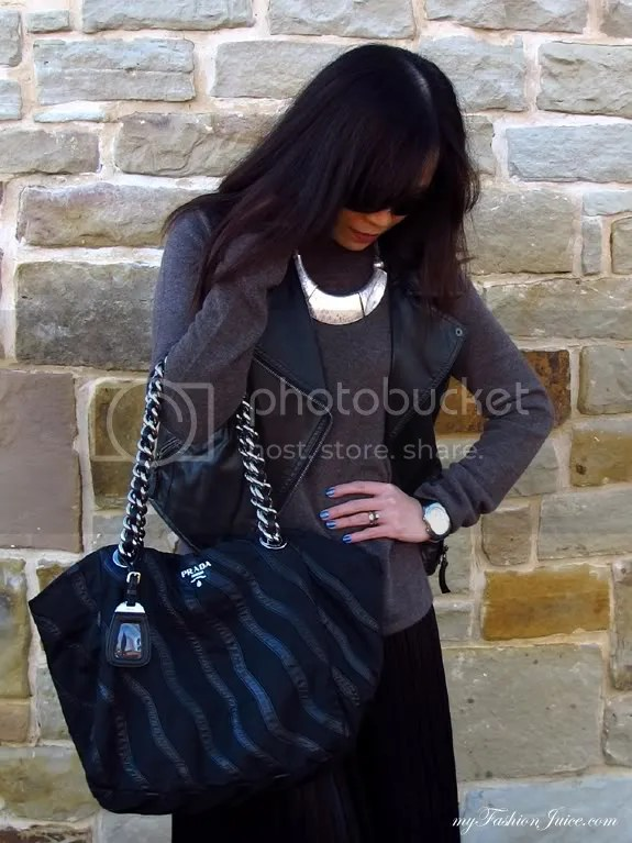 Maxi Sweater2 {Weekly Wear} Pleated Maxi & Sweater Combo
