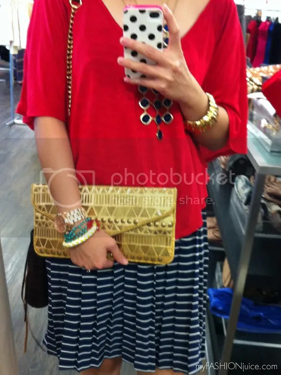 BCBGMaxazria Clutch Party2 {Weekly Wear} Carefree, Northpark Dallas and a Clutch Party