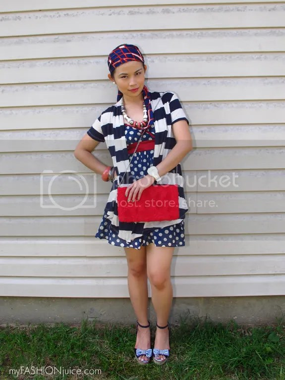 RedWhiteBlueOutfit {Weekly Wear} Fourth of July Outfit: Red, White and Blue