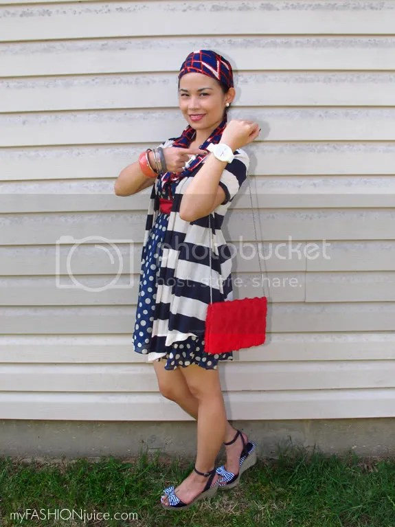 RedWhiteBlueOutfit10 {Weekly Wear} Fourth of July Outfit: Red, White and Blue