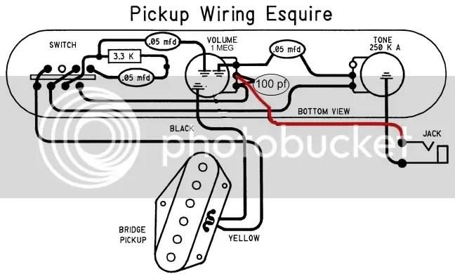 fender esquire wiring diagram