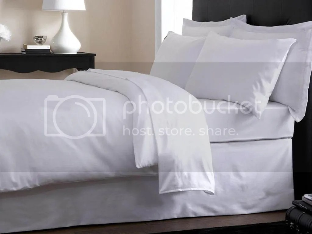 Plain White Bedding Plain White High Thread Count Luxury Percale Fitted