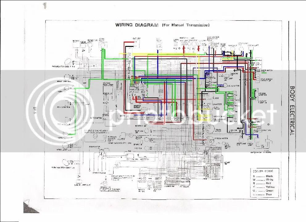 240z Wiring Diagram - Wiring Data Diagram