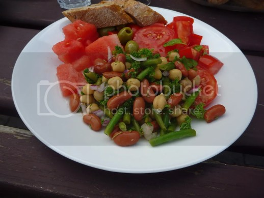 Three Bean Salad from the Sisterhood of the Shrinking Jeans