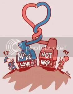 Battling Thanks, Make Love Not War