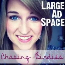 Chasing Birdies Large Ad Space