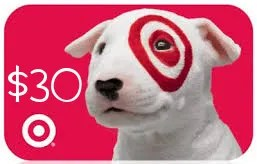 Win a $30 Target Gift Card