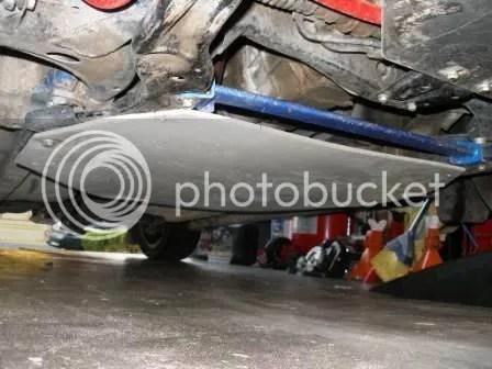 Subaru Impreza DIY HDPE Underbody Skid Plate 3