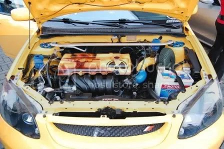 2002 Atomik Toyota Corolla Altis by FM Garage, SEATMATE, and JC Car Audio Engine