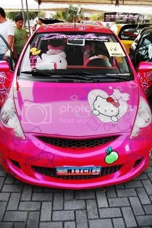 Hello Kitty Honda Jazz 3