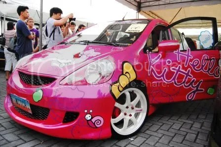 Hello Kitty Honda Jazz 4
