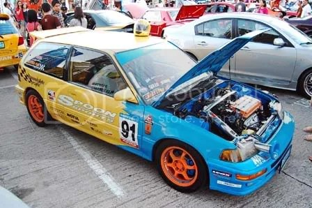 Drag Spoon Honda Civic EF Hatch by Speed2Autoworks