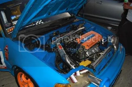 Drag Spoon Honda Civic EF Hatch by Speed2Autoworks Engine