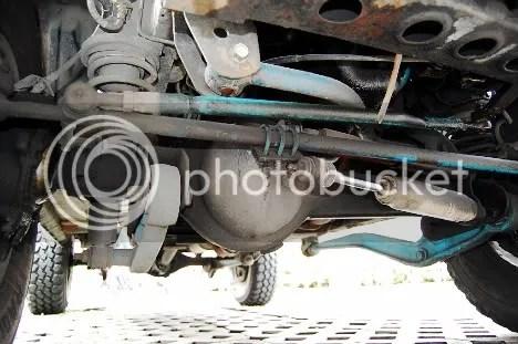 Vitoy's Suzuki Vitara Front Solid Axle