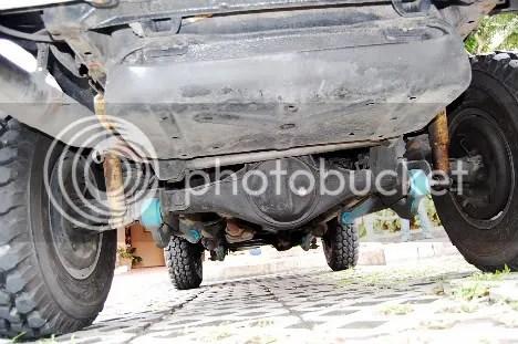 Vitoy's Suzuki Vitara Rear Axle