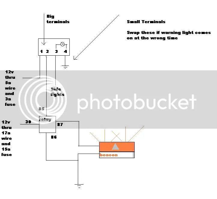 beacon light wiring diagram