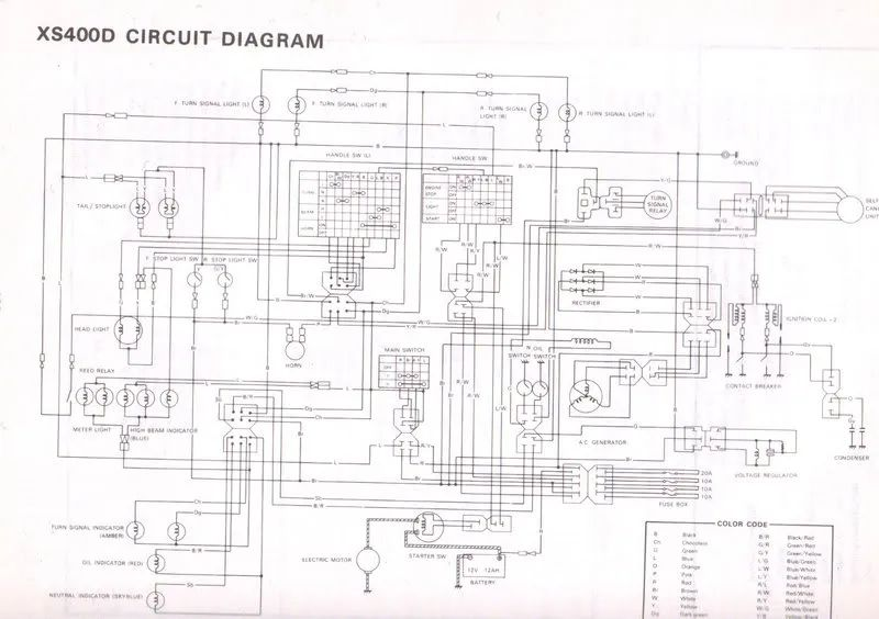 1977 xs400 wiring diagram