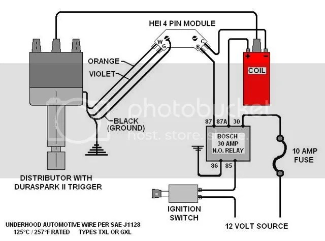 Chevy 350 Coil Wiring Wiring Diagram