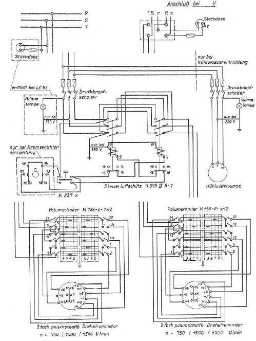 terex schema moteur monophase
