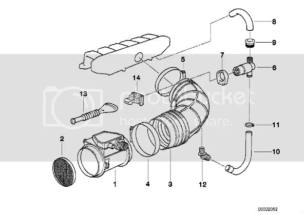 flow bmw 323 enginepartment diagram