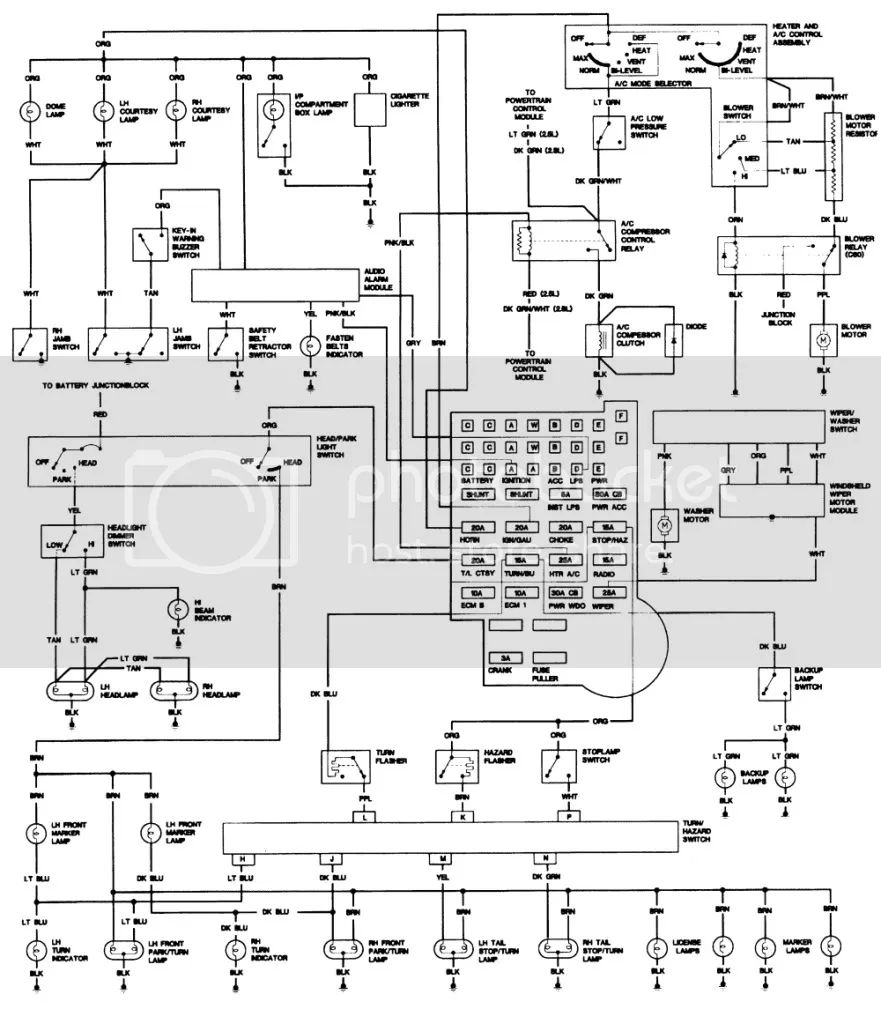 b amp m shifter wiring diagram