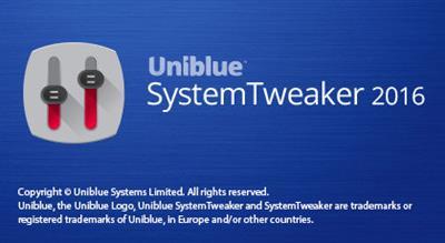Uniblue SystemTweaker 2016 2.0.12.0 Multilingual - Download