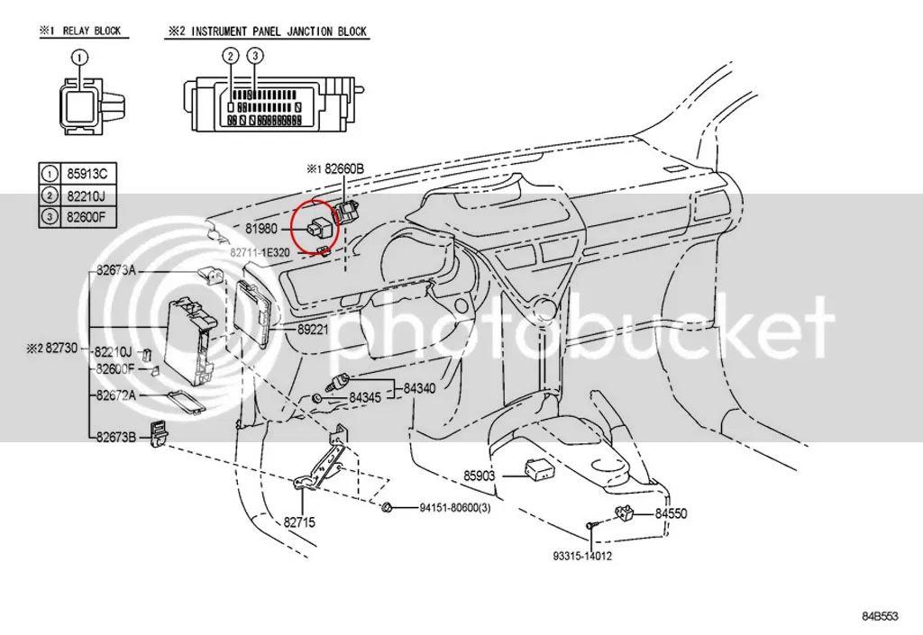 2012 scion iq fuse box diagram