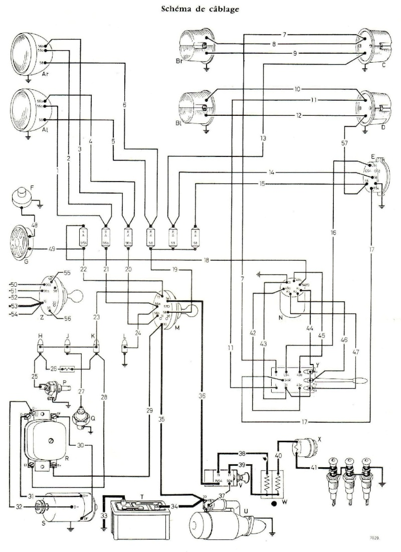 bike bedradings schema