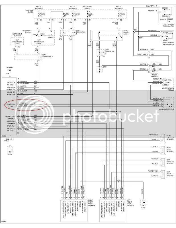 04 dodge ram speaker wire diagram