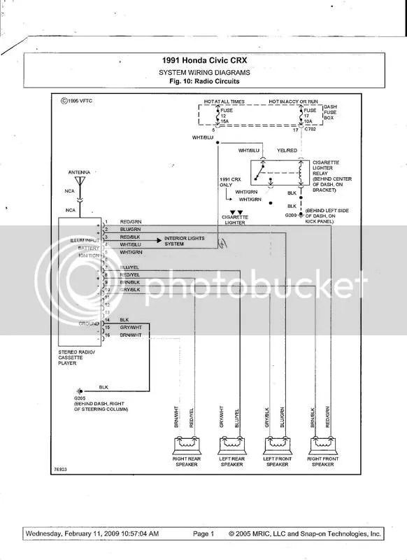 1990 Honda Civic Engine Diagram Electrical Circuit Electrical