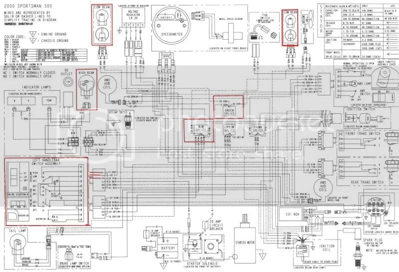 2006 sportsman 800 wiring diagram