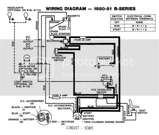 857 wheel horse wiring diagram