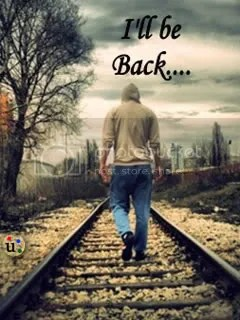 Rain Wallpaper With Quotes In Marathi I Will Be Back Pics Lonely Images I Will Be Back Quotes 04