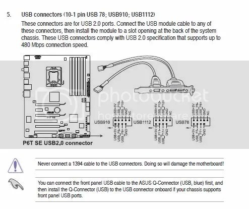Front usb ports - CyberPowerPC Forum - Page 1