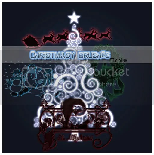 jdGONEMAD.net - Christmas Brushes