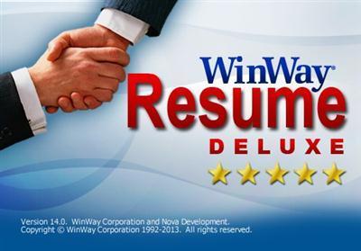 winway resume deluxe free - Winway Resume Free