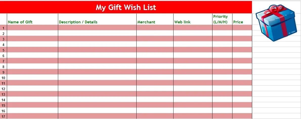 The very best apps and websites for holiday gift list organization